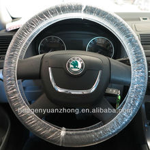 plastic disposable car steering wheer cover