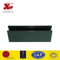 Different market anodized surface aluminum tube extrusion profile for window frames & door