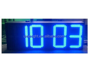 Outdoor LED countdown timer / clock
