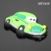 Promotional Soft Rubber Injection Molding Cute Cartoon Car Shaped Animation PVC Fridge Magnet