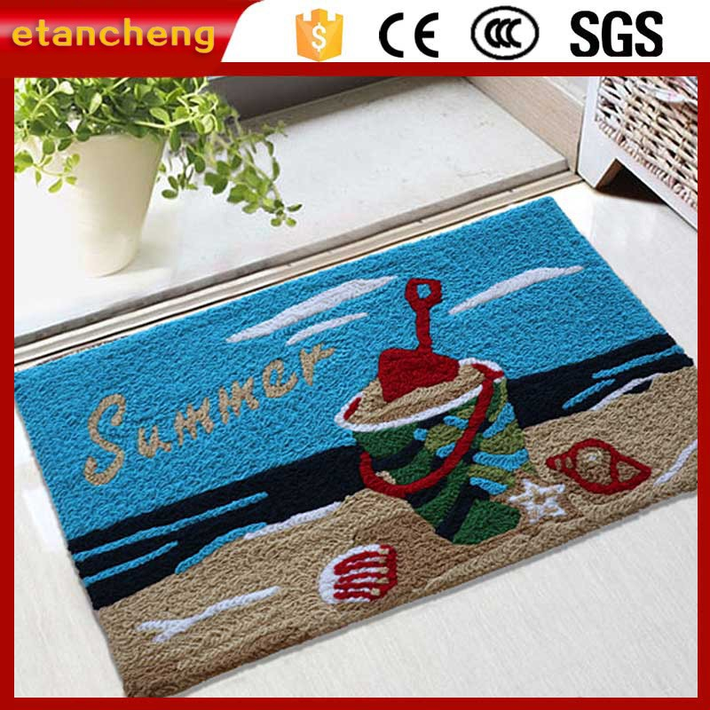 Bath Mat Non Slip Oriental Embroidered Carpet Rug
