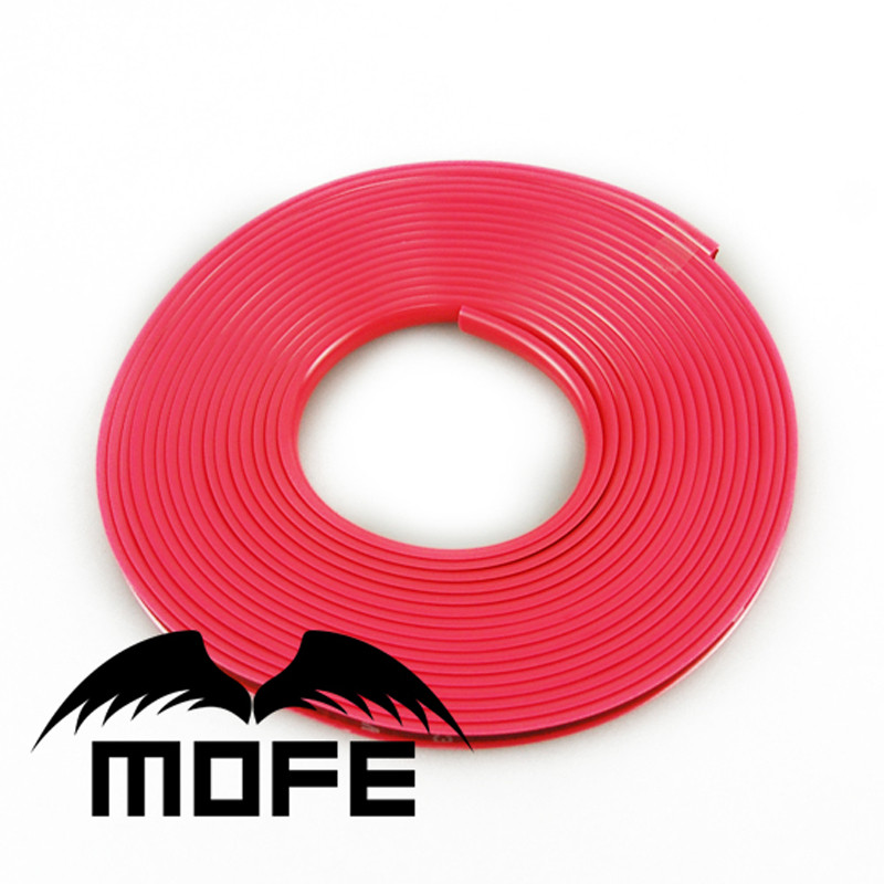 Mofe High Performance Car Alloy Wheel Scuff Protector For 4 Wheel Rim Backside With 3M Glue Double-sided Tape