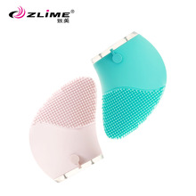 2017 hot selling new skin scrubber, sonic silicone face brush
