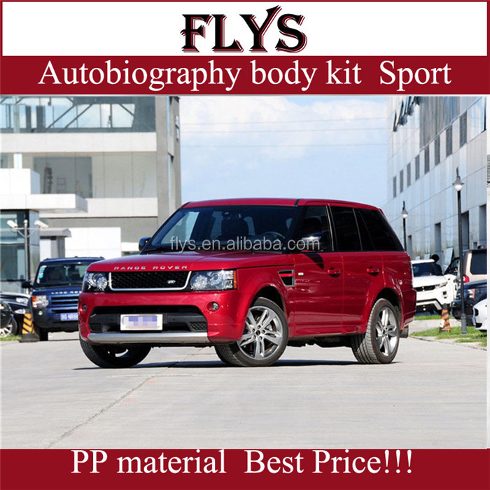 Factory price! autobiography body kit head lights for Range rove sport. Rang rover 2013-2014 year. Export plastic material!
