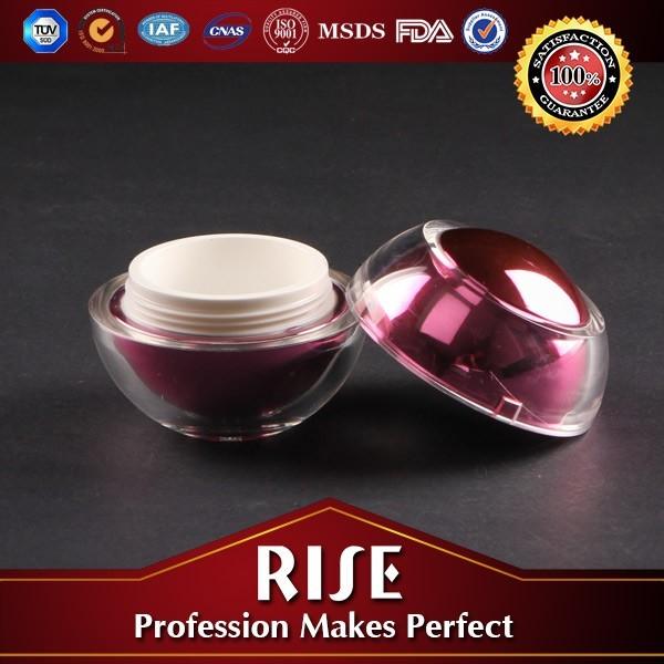 10g red apple cosmetic plastic jars with lids,30g elegant egg shape cosmetic jars,10ml small cherry cosmetic jar