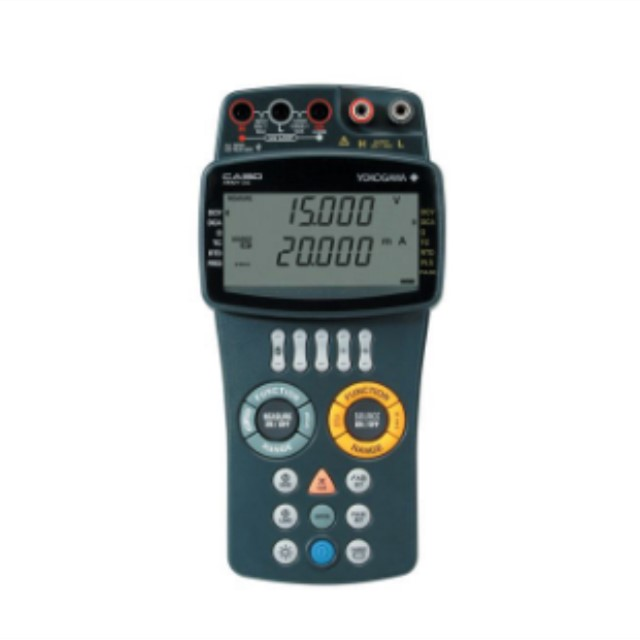 CA150 Multifunction Calibrator CA150 (Handheld) is a portable, multi-function calibration device