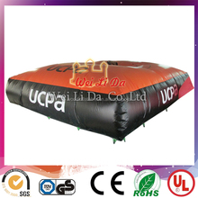 2015 hot giant high jumping rescue inflatable big air bag on sale