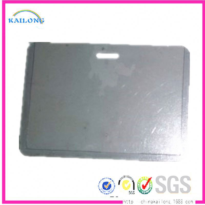 FREE SAMPLE Hard Plastic Index Atm Card Holder