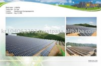 Solar Power System(Fix Type 1,500kWp Solar Plant)