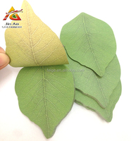 leaf shaped sticky notes