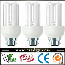 alibaba china energy saving lamps, E27 3U energy saving light bulb 110v