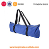 Waterproof Durable Internal Zippered Pocket Carrier Tote Blue Nylon Yoga Mat Bag