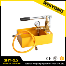 Useful hydraulic test pump equipment water pressure testing machine