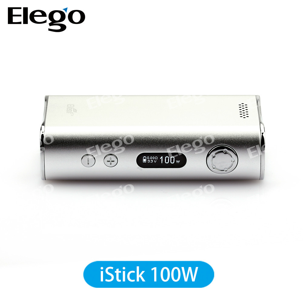 Eleaf New box mod Kit istick 40w and istick 100W Temperature Alarm box Mod supports 18650 battery Match subtank mini bell cap