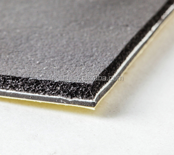Enhance multi layer insulation rubber foam aluminum foil foam insulation
