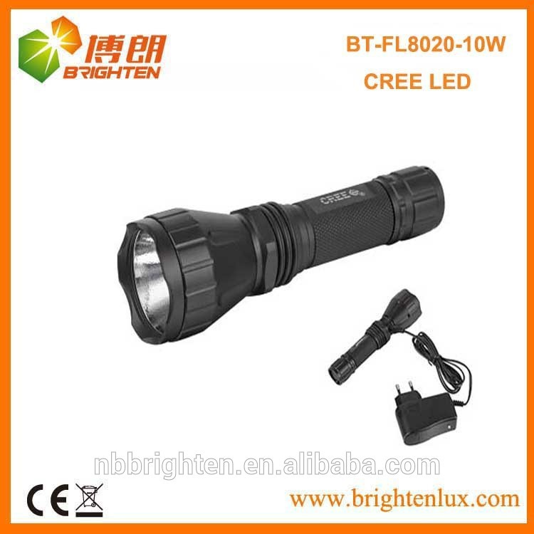 China Factory Supply Cheap Tactical Multifunction Power led Metal led rechargeable torch