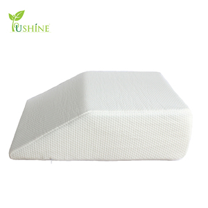 Elevating Memory Foam Leg Elevation Rest Pillow Best Wedge Pillow Reduces Back Pain and Improves Circulation