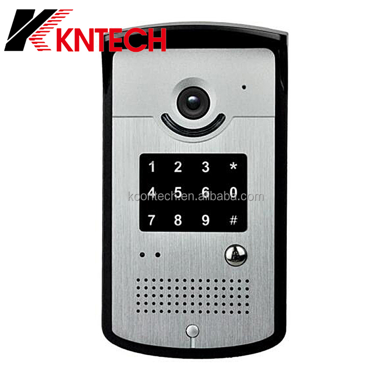 KNTECH IP door intercom smart phone/3G video door phone wifi
