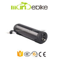 CE Certificate! Waterbottle type 48v 10.4Ah li-ion accu battery for electric bicycle with BMS and charger 2A