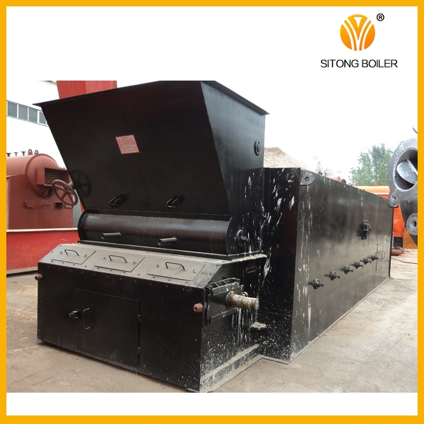 LOW cost 1-25T/H U.S. brand water treatment double drum water tube bagasse boiler
