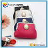 High quality PU Leather small round wallet for lady