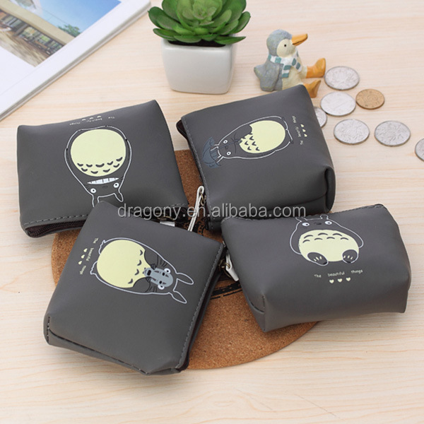 Leather Coin Purse Car Holder Wallet Money Key Pouch