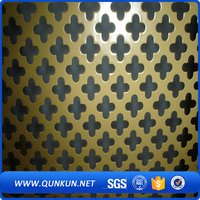low carbon steel perforated metal sheet, perforated metal panel