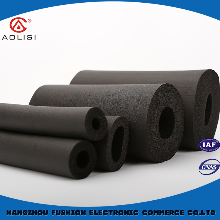 Foam air condition insulation tube,rubber tube for air condition