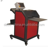 New design Manual Creasing and folding machine