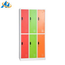 best style dressing room cabinet furniture with 6 doors locker