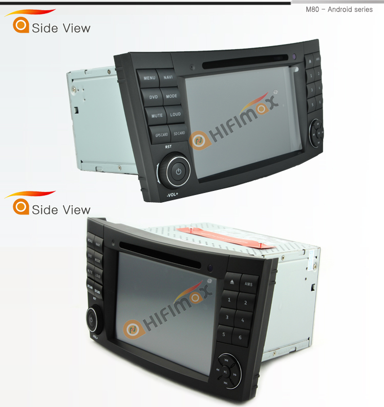 HIFIMAX Android 6.0 car dvd player for mercedes benz e class W211 car dvd gps navigation system