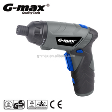 G-max 3.6V Lithium Mini Foldable Cordless Screwdriver Set With LED