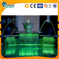 2015 hot selling products swimming pool colorful jumping jet water fountain nozzle with light