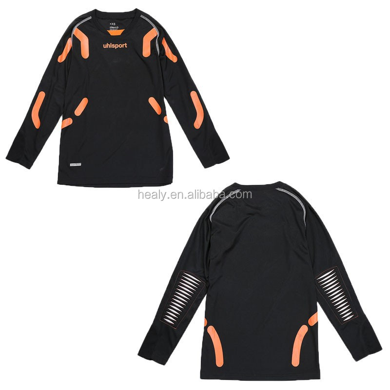 Long Sleeves Referee Shirt with Protecting Pad