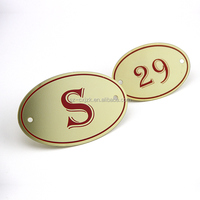 Factory supply wholesale brass name plate engraving, brass name plaques