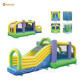 Happy Hop Pro Gaint Inflatables-1030 Obstacle Course Bouncer Castle wholesale