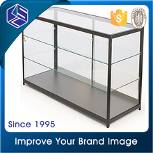 Customers first cell phone store fixtures displays glass counter for display mobile