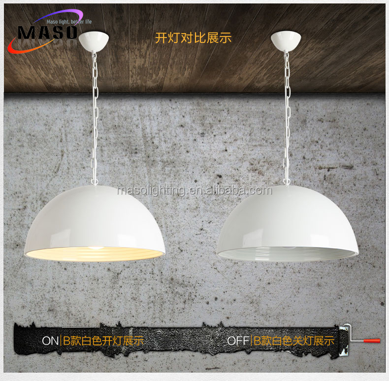 Modern Nordic style Aluminum Pendant Lamp Chrome Metal Lighting for Office Restaurant Dining room