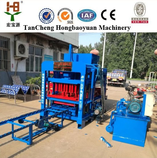 used concrete block making machine for sale german concrete block making machine QT4-20 cement brick block making machine price