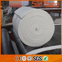 Garbage incinerator dedicated 1260C double side needle ceramic fiber blanket