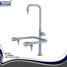TOFkeen Triple Outlet Laboratory Faucet