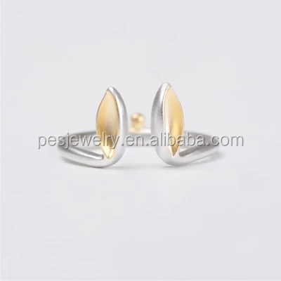 PES Fashion Jewelry! Mini Animal Open Ring Cute Rubbit Bunny Ears Free Size (PES6-1982)