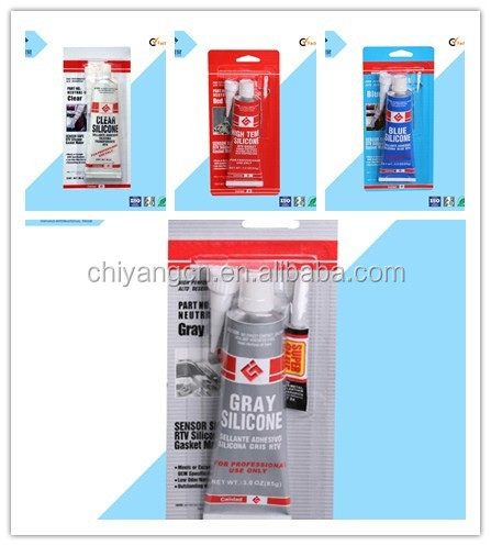High-temp resistance gasket free fast curing RTV silicone gasket maker