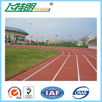 Spray Coating surface Athletic Track Outdoor rubber sport surfaces track