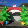 Xmas Inflatable Tree Arch for Yard Decoration