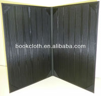 Black Moire Silk for Book Cloth