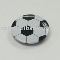 Football Tin Badge