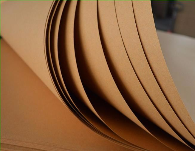 Factory price unbleached kraft paper