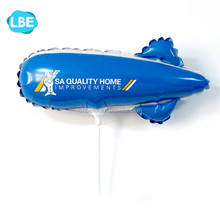 small size promotional cup stick zeppelin balloon