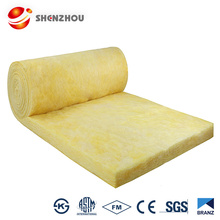 Sound absorption insulation fabric fireproof glass for fireplaces CE certificate glass wool blanket rolls